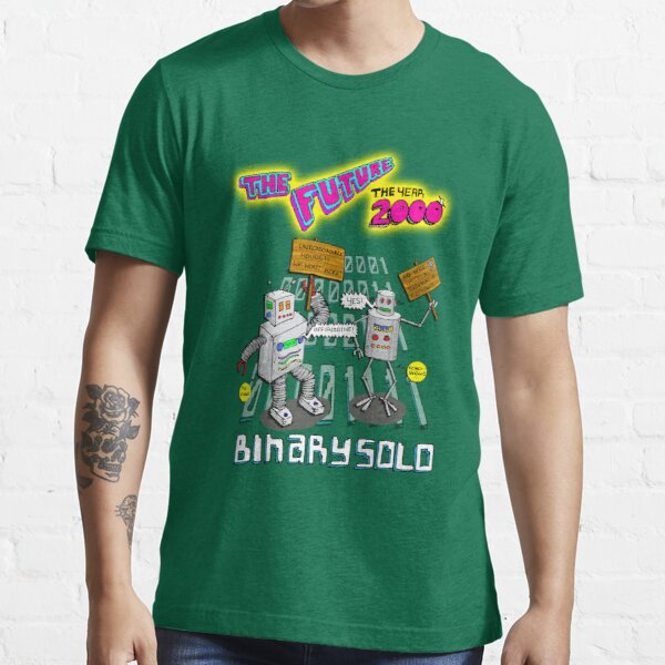 Flight of the Conchords - Binary Solo - Robots 2 Essential T-Shirt