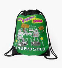 Flight of the Conchords - Binary Solo - Robots 2 Drawstring Bag