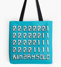 The Flight of the Conchords - Binary Solo - Robots Tote Bag
