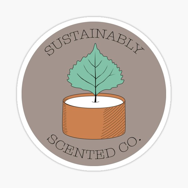 Sustainably Scented Co V2 Sticker