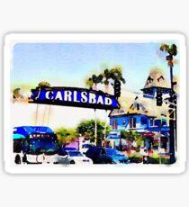 Carlsbad Sticker