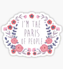 The Paris of People Sticker