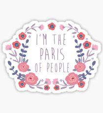 The Paris of People Sticker