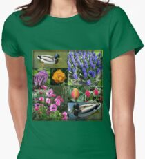 Flowers and Feathers - Keukenhof Collage T-Shirt
