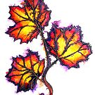 Leaves of Autumn by Linda Callaghan