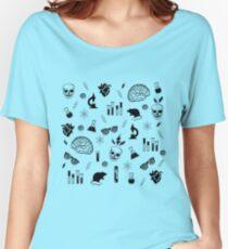 Weird Science in Green Women's Relaxed Fit T-Shirt