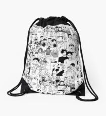 Haikyuu!! - Manga Collage Drawstring Bag