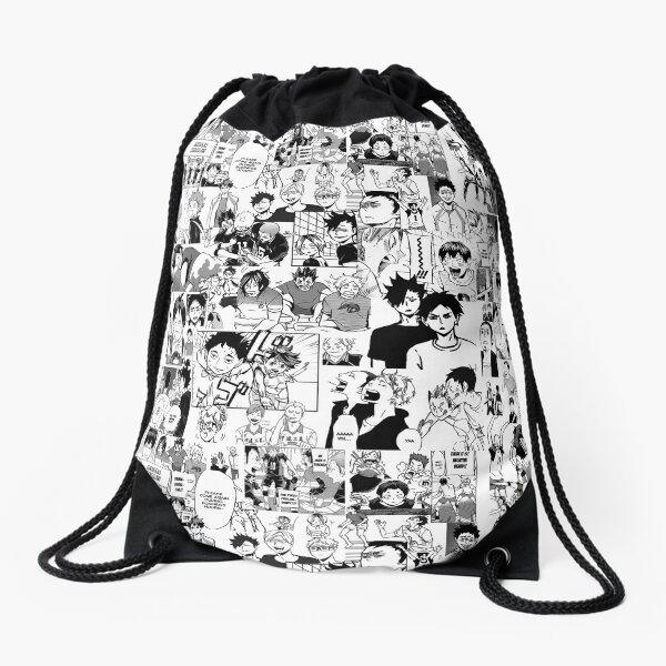 Haikyuu!! - Manga Collage Drawstring Bag