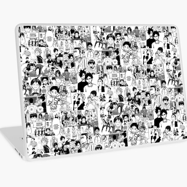 Haikyuu!! - Manga Collage Laptop Skin