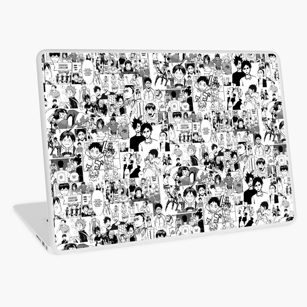 Haikyuu!! - Manga Collage Laptop Skin