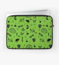 Weird Science in Green Laptop Sleeve