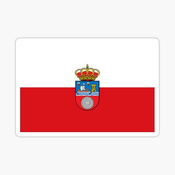 Bandera de Cantabria Pegatina