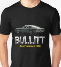 Bullitt mustang classic american car T-Shirt