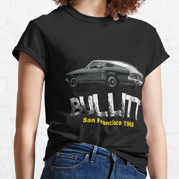 Genuine American Classic Car Script Tshirt