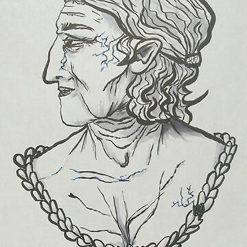Just An Old Bust by inktlion