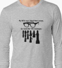 Getting New Lenses Long Sleeve T-Shirt