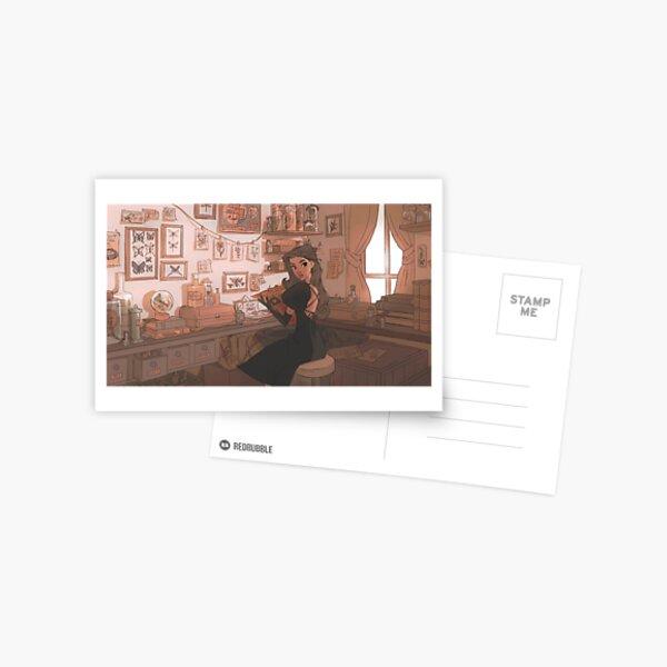 witch den Postcard
