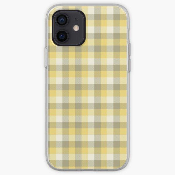 Yellow Tartan iPhone Soft Case
