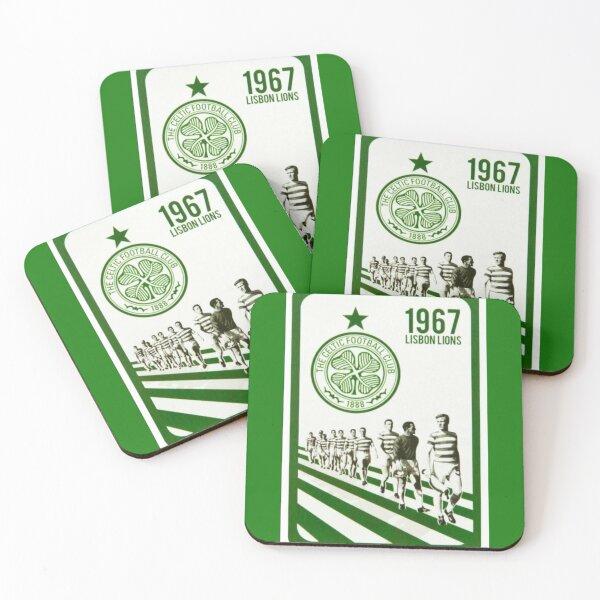 The Lisbon Lions Coasters (Set of 4)
