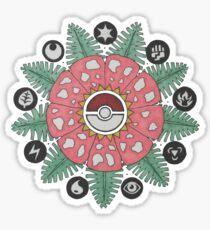 Pokemandala Sticker