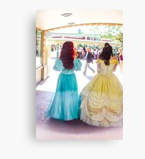 princess walks Canvas Print
