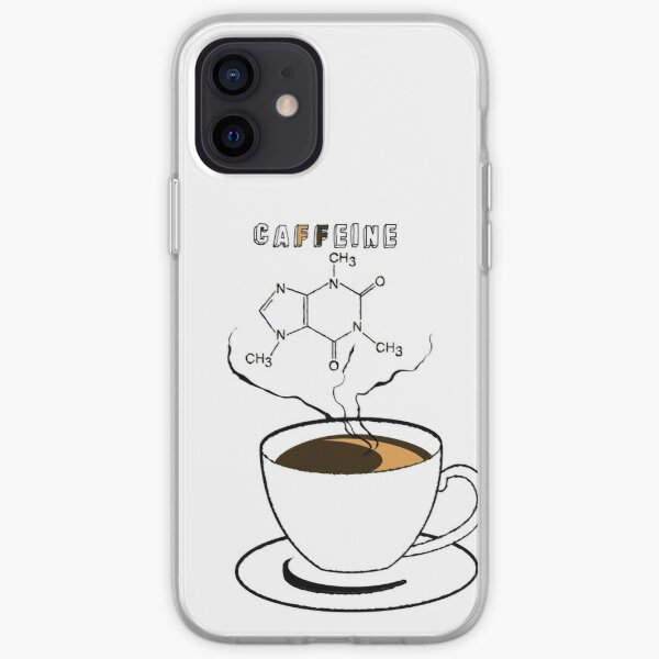.Caffeine iPhone Soft Case