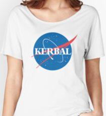 Kerbal Space Program NASA logo (large) Women's Relaxed Fit T-Shirt