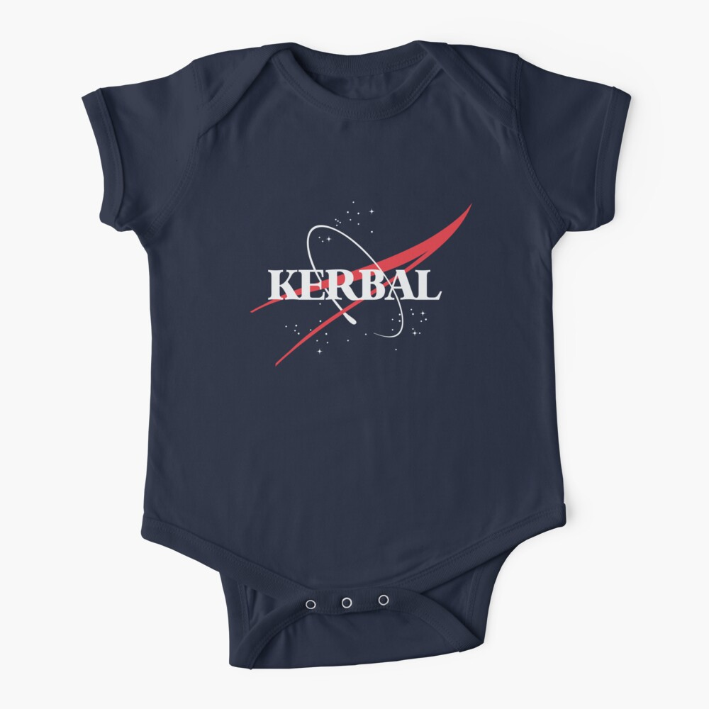 Kerbal Space Program Hoodie Baby One-Piece