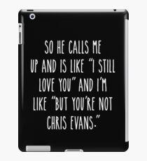 Not Chris E iPad Case/Skin