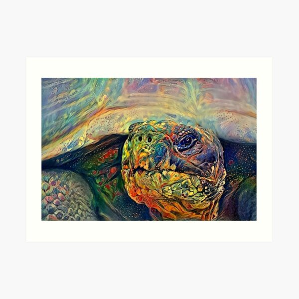 Am I Turtle Art Print