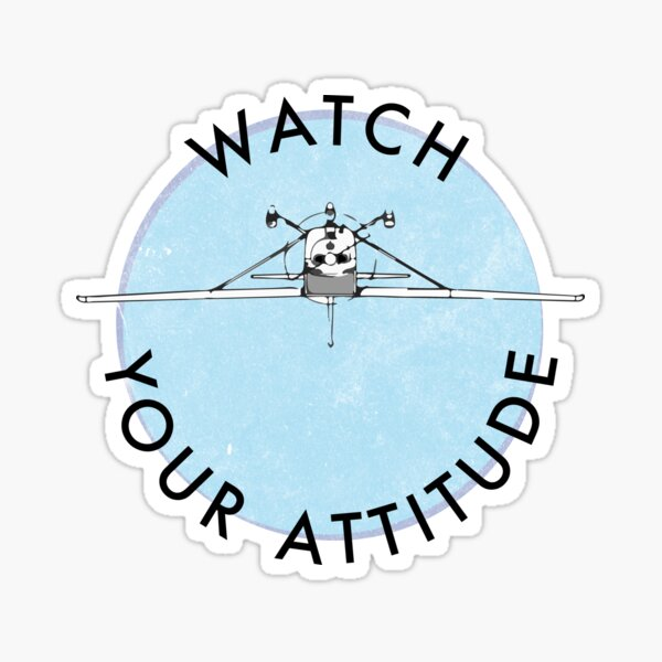 Watch Your Attitude - Inverted Cessna 172 Sticker