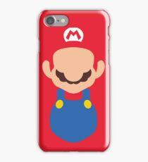 Minimal Super Mario Bros iPhone Case/Skin