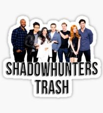 Shadowhunters Trash Sticker