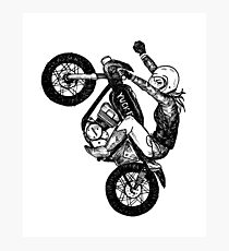 Women Who Ride - Yuck Fou Photographic Print