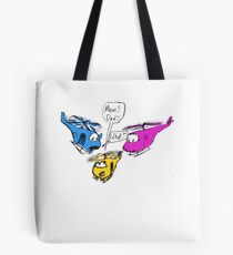 Helicopter Parents Tote Bag