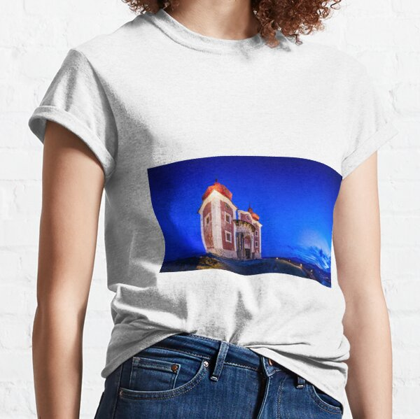 Calvary In Banska Stiavnica at night Classic T-Shirt