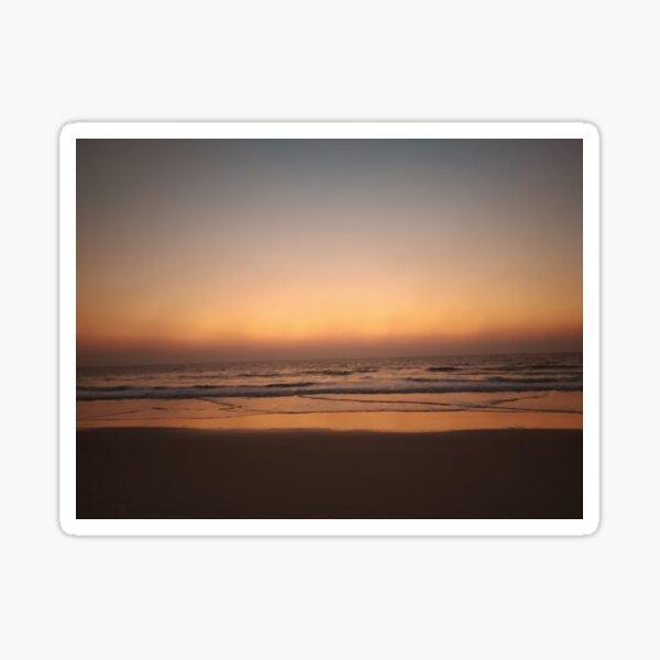 Twilight on the Beach Sticker