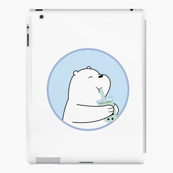 We Bare Bears Ice Bear Boba iPad Snap Case