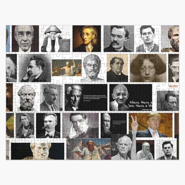 Philosophers Jigsaw Puzzle