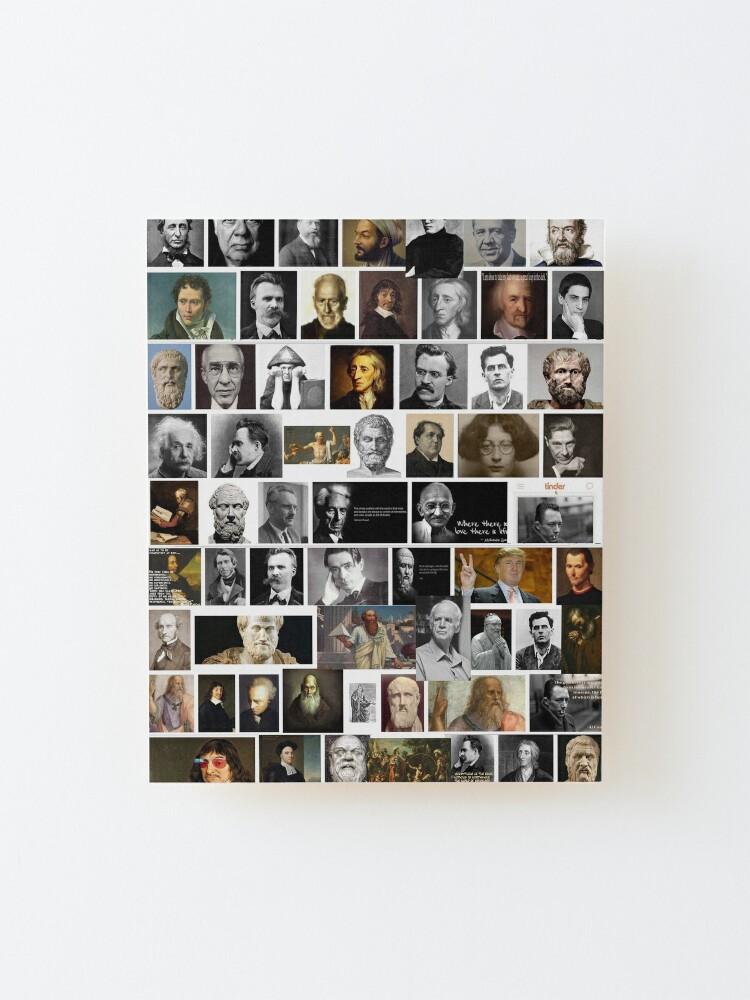 Alternate view of Philosophers Mounted Print