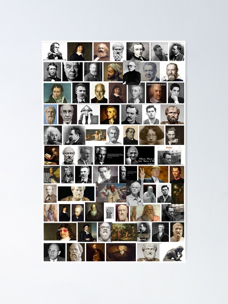 Alternate view of Philosophers Poster