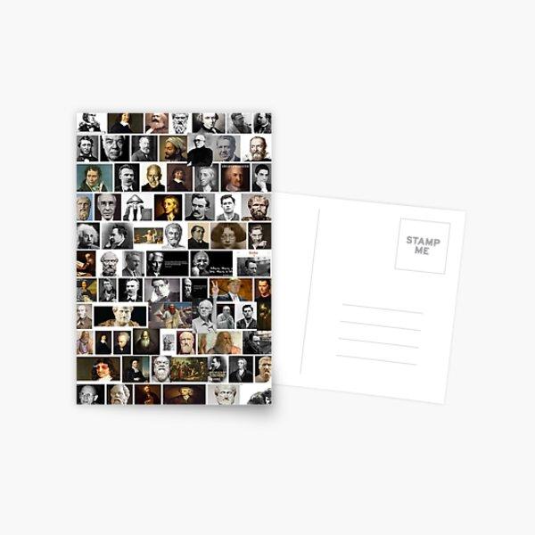 Philosophers Postcard