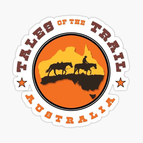 Tales of the Trail Australia LOGO Sticker