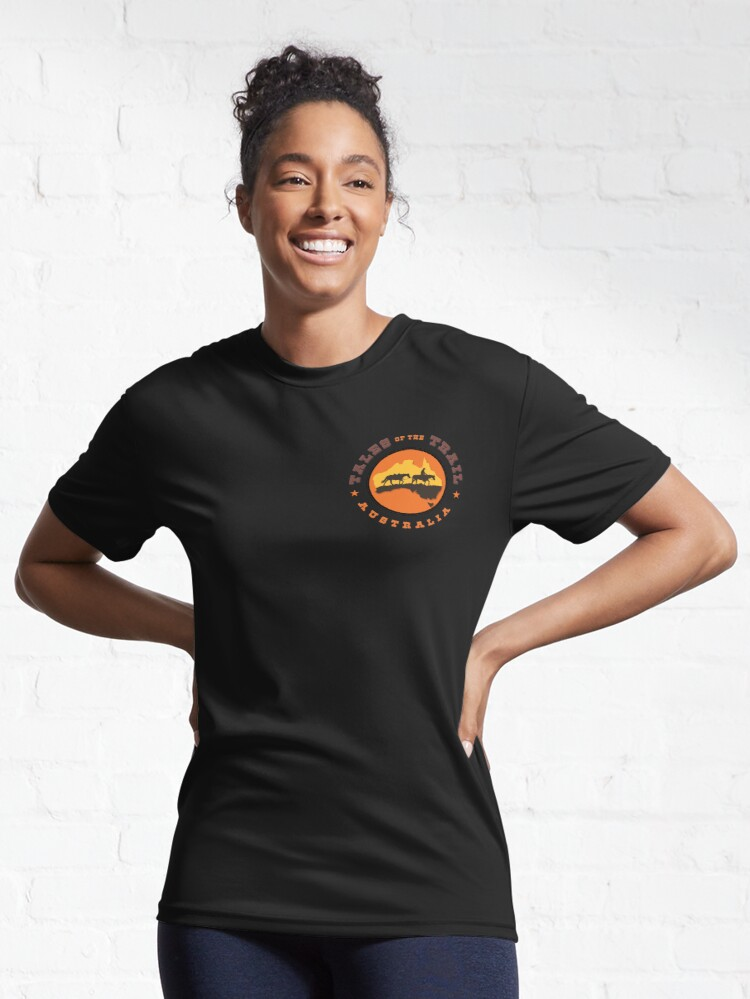 Alternate view of Tales of the Trail Australia LOGO Active T-Shirt