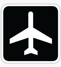 Airport/Airplane Symbol Sticker