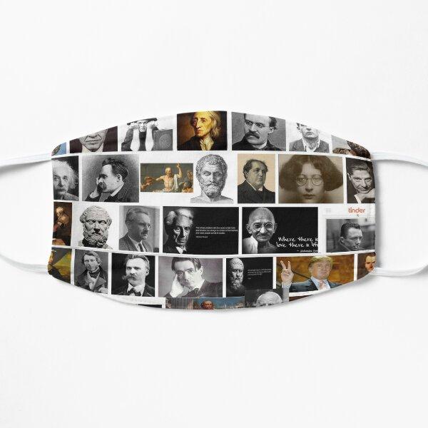 Philosophers Flat Mask