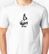 WWF WWE Panda T-Shirt