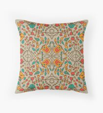 - Oriental flower pattern - Throw Pillow