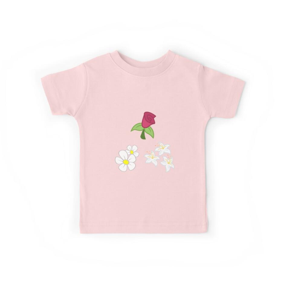 Mein kleines Pony - Roseluck + Gänseblümchen + Lilie (Blumenladen) Cutie Mark von ariados4711