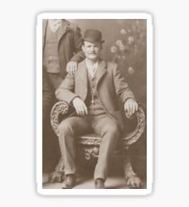 Butch Cassidy - Outlaw Portrait Sticker